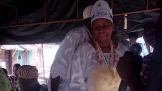 preview picture of video 'Black American Crowned Chief in Ile Ife, Nigeria'