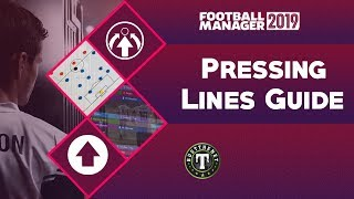 FM19 Pressing Lines in Football Manager 2019