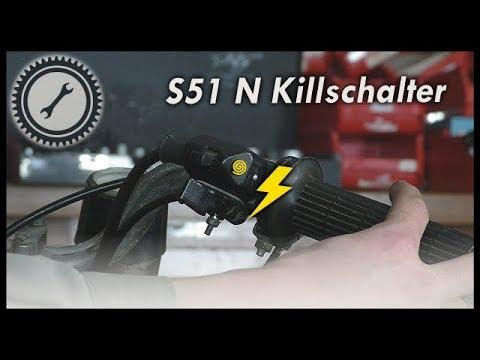S51N Elektrik & Killschalter nachrüsten - Simson Tutorial
