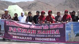 preview picture of video 'Z. Arifin bersama Jamaah Ibadah Umroh Fatimah Zahra'