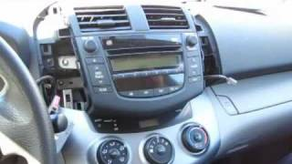 GTA Car Kits - Toyota Rav4 2006-2011 install of iPhone, Ipod, AUX and MP3 adapter for factory stereo
