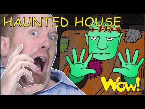 Haunted House for Kids   Halloween Songs for Children from Steve and Maggie   Wow English TV