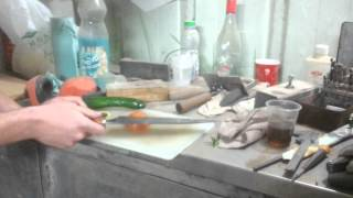 השחזת סכיני מטבח