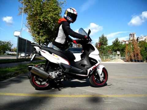 Gilera Runner ST200 & Akrapovic