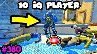 DUMBEST 10 IQ PLAYERS - CS:GO BEST ODDSHOTS #380