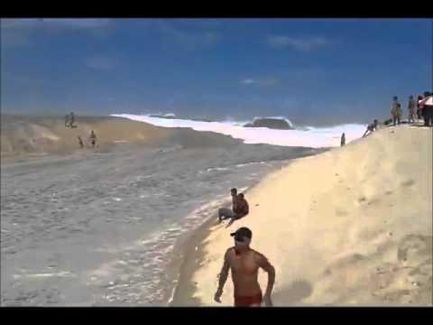ola gigante por causa de terremoto en ecuador 2016 en brasil maremoto