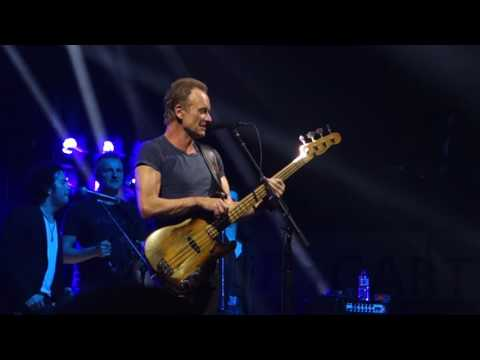 Sting - Walking on the moon - Stuttgart 29.03.2017