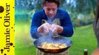 Sausage & Squash Pasta | Jamie Cooks Italy | Behind the Scenes