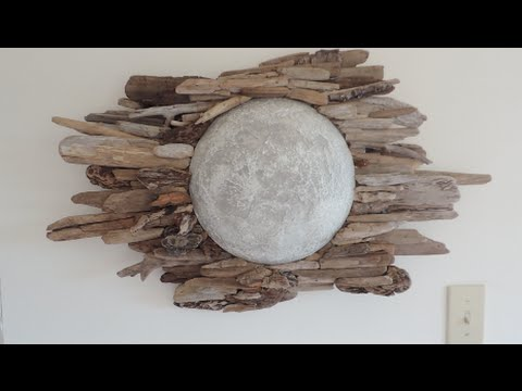 DIY | Driftwood Moon Wall Art