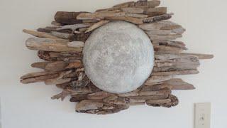 DIY | Driftwood Moon Wall Art