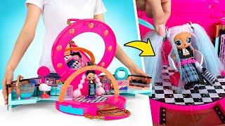 L.O.L. Surprise! Friseursalon + 50 Überraschungen und exklusive Modepuppe