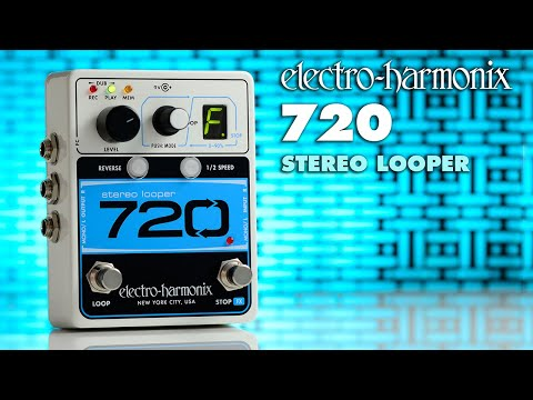ELECTRO HARMONIX 720 Stereo Looper Kytarový efekt
