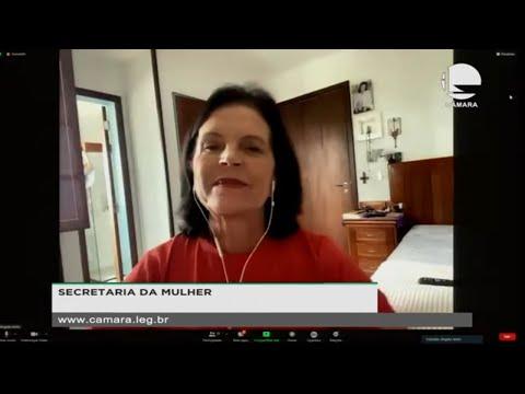 (Em espanhol) - Secretaria da Mulher debate direitos e cidadania em tempos de pandemia - 19/03/2021