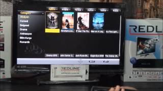 Redline TS Serisi Cihazlara İptv Kodu Nasıl Yüklenir