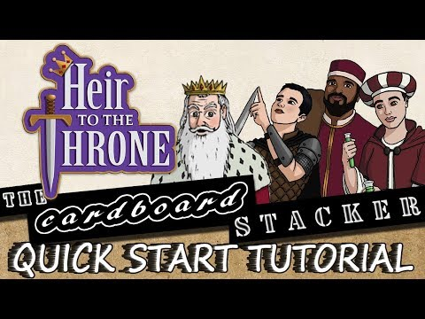 How to play Heir to the Thorne from Amber Palace Games