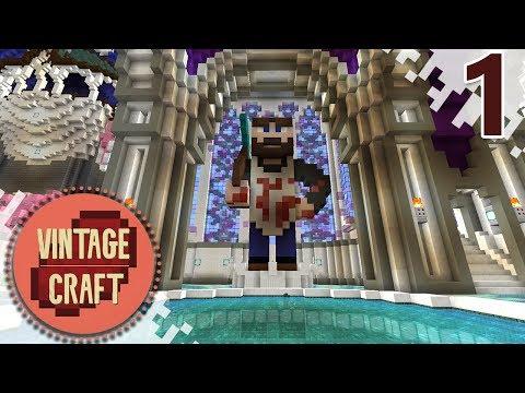 Minecraft VintageCraft Season 2 - EP01 - A Fresh Start! (Minecraft Video)