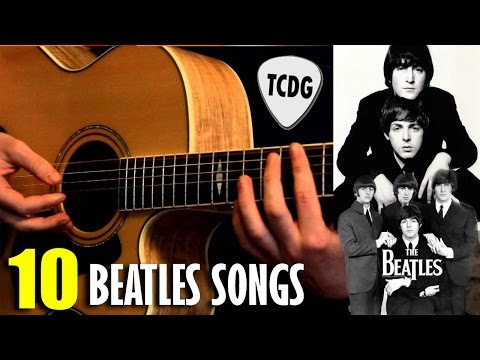 Aprende 10 Grandes Canciones De The Beatles Muy Fácil En Guitarra Acústica TCDG Mp3