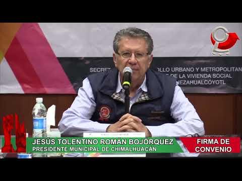 CHIMALHUACÁN E IMEVIS REFUERZAN ACCIONES DE VIVIENDA