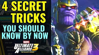 4 secret tricks in Marvel ultimate Alliance 3 you should know by now