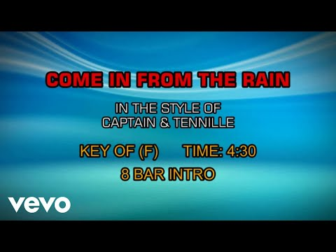 Captain & Tennille - Come In From The Rain (Karaoke)
