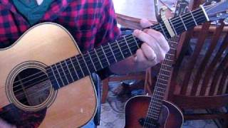 Grandma's Theme & Small Town-(John Mellencamp - Lesson Play Through)