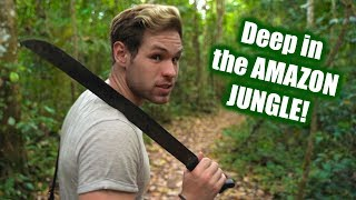 Inside the AMAZON RAINFOREST! - What it's REALLY like in the Jungle (2019)