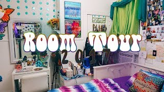 (My 70's Inspired) Hippie Room Tour! |💜2017🌻)