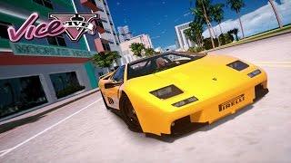 GTA 5 MICHAEL TRIP TO VICE CITY  (GTA 5 REDUX PC MODS)