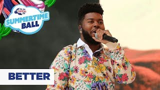Khalid – 'Better' | Live At Capital's Summertime Ball 2019