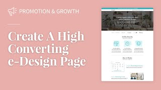 Creating a High Converting E-design Page