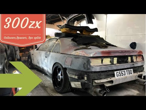 Nissan 300zx - Installing Coilovers, Spacers and 3pc split Wheels