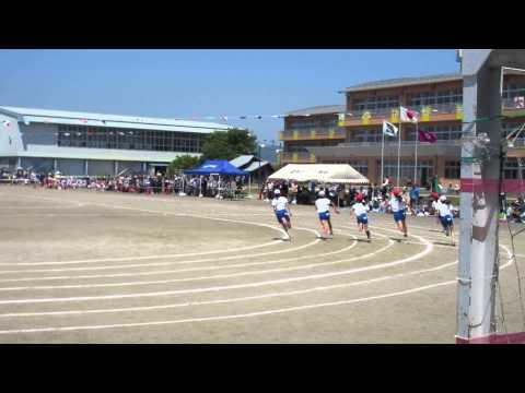 2015 5 23宮野目小学校 6年生120m徒競走