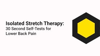AllCarePT - Isolated Stretch Therapy