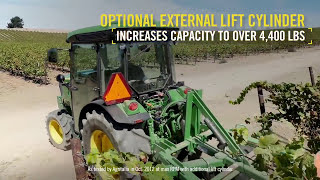 The New 5G Series Narrow Specialty Tractors