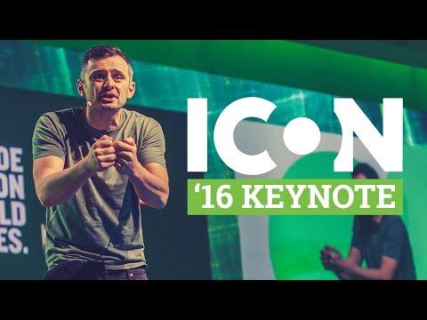 Gary Vaynerchuk – Keynote Presentation with Q&A – ICON 2016