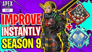 How To INSTANTLY IMPROVE In Season 9! Apex Legends Tips and Tricks Guide