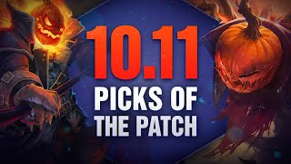 10 New OP Picks and Builds of the Patch in 10.11 for Solo Queue