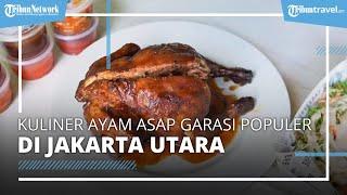 Kuliner Ayam Asap di Garasi Populer di Kalangan Food Vlogger, Sehari Bisa Habiskan dari 80 Ekor