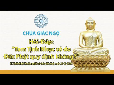 Tam Tịnh Nhục có do Đức Phật quy định không?