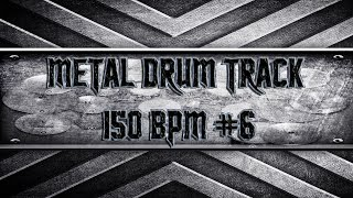 Lamb Of God/American Modern Metal Drum Track 150 BPM (HQ,HD)