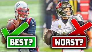 The 5 BEST Debuts For NFL QB's With a New Team… And The 5 WORST