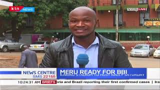 Kirinyaga county delegates are expected to  congregate in preparation for the Meru BBI rally