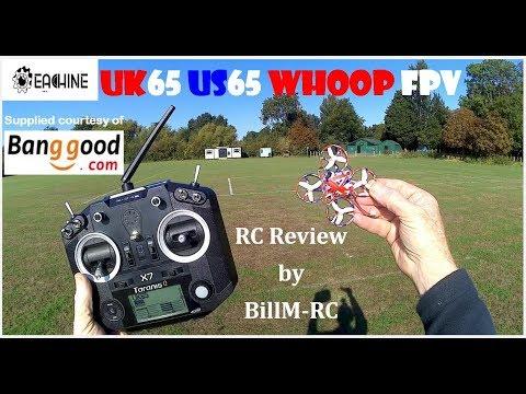 Eachine UK65 US65 review - Unboxing, Inspection, Setup & Flights + peek under hood
