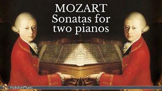 Mozart - Sonatas for Two Pianos