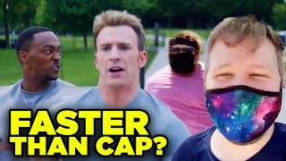 """Captain America Winter Soldier """"On Your Left"""": Fitness Challenge Episode 5"""