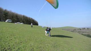 SkySchool 2013 Paraglider training.