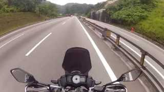 preview picture of video 'Kawasaki Versys uphill ride'