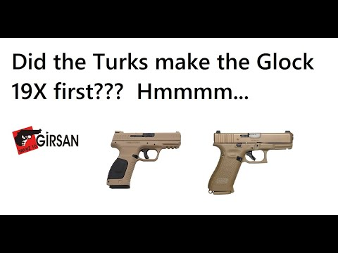 Turkish Glock 19X/45? The Girsan MC28SAC - смотреть онлайн