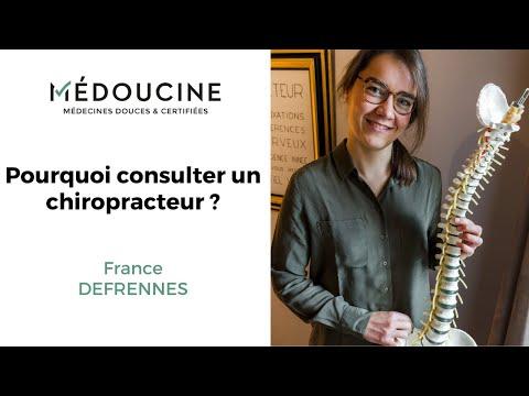 🤔 Pourquoi CONSULTER un CHIROPRACTEUR ? Par France Deffrennes 🤔