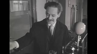 Nostalgische zwart-wit film Ben Hüsstege.